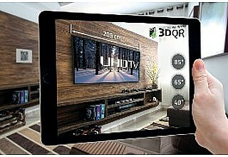 3DQR - The Augmented Reality Builder